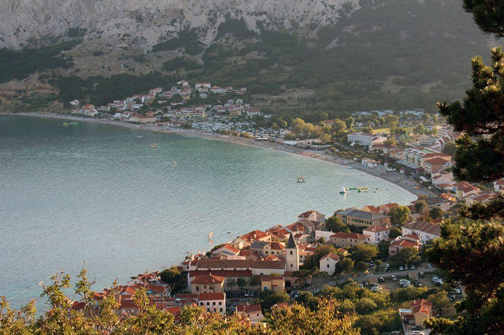 Baška Hotel Übersicht