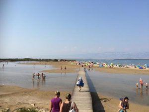 Sandstrand Ninska Laguna