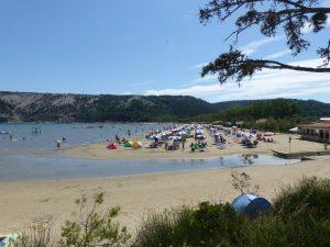 Sandstrand Kroatien Lopar