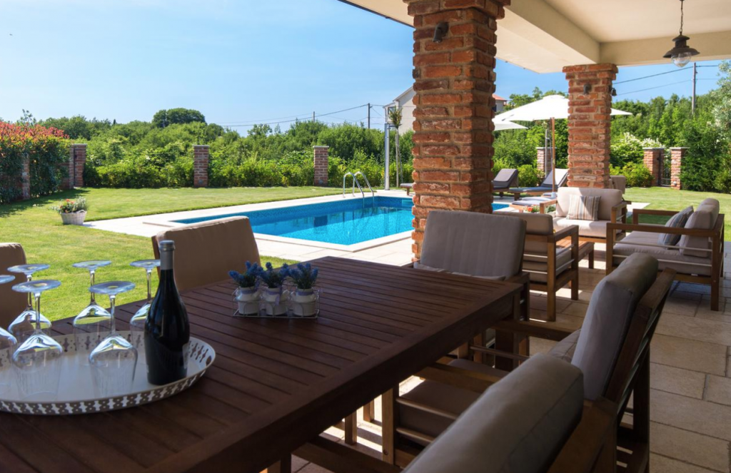 Luxusvilla mit Pool Krk