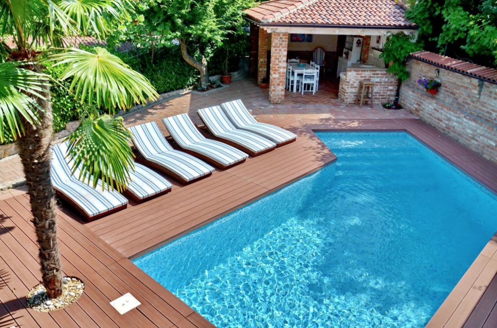 Villa Amalia Appartment mit Pool