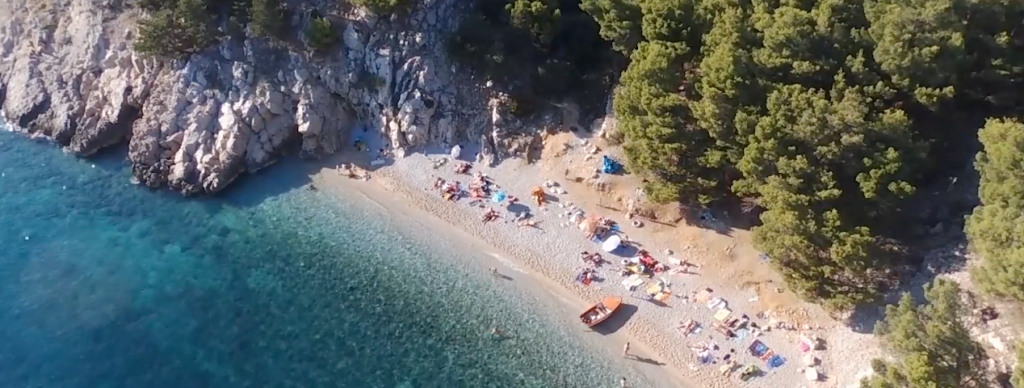 Hidden Beach Drone