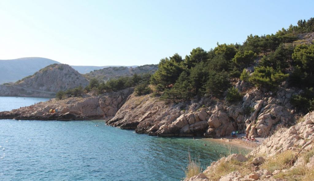 Hidden Beach Sehenswürdigkeit Krk