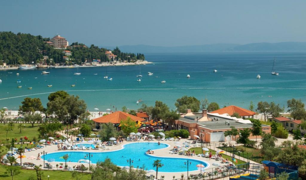 Maslinica Strand Istrien Rabac