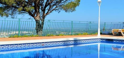 Ferienhaus mit Pool in Kroatien