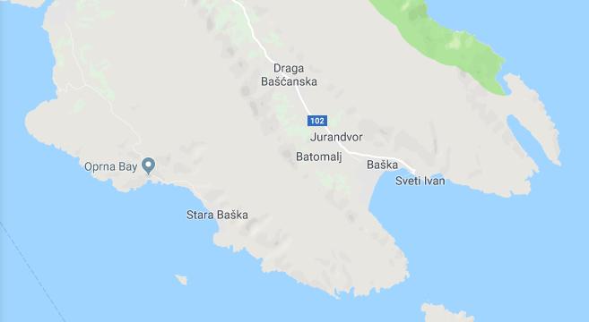 Stara Baska Karte