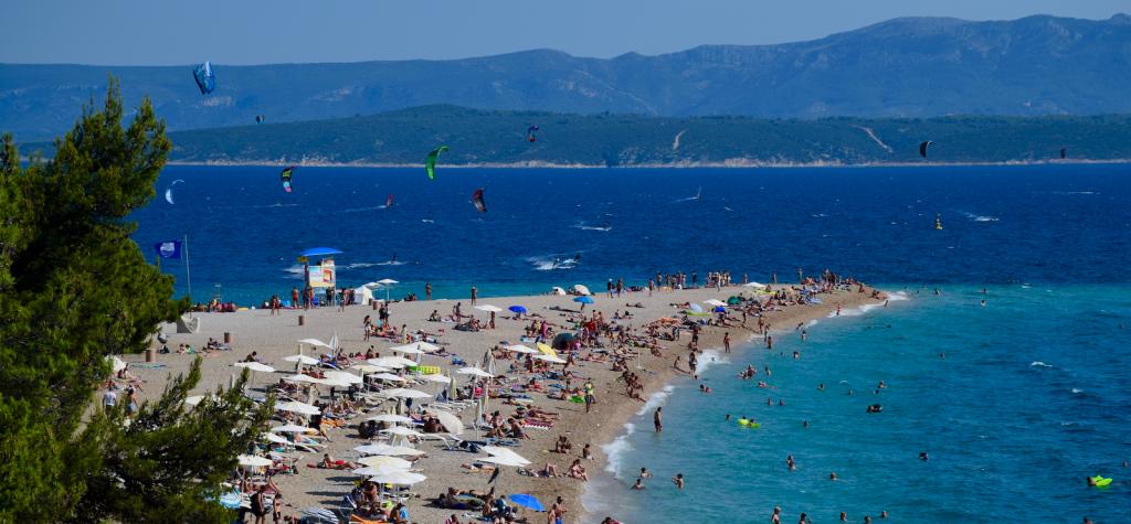 Kroatien Insel Brac mit Goldenem Horn