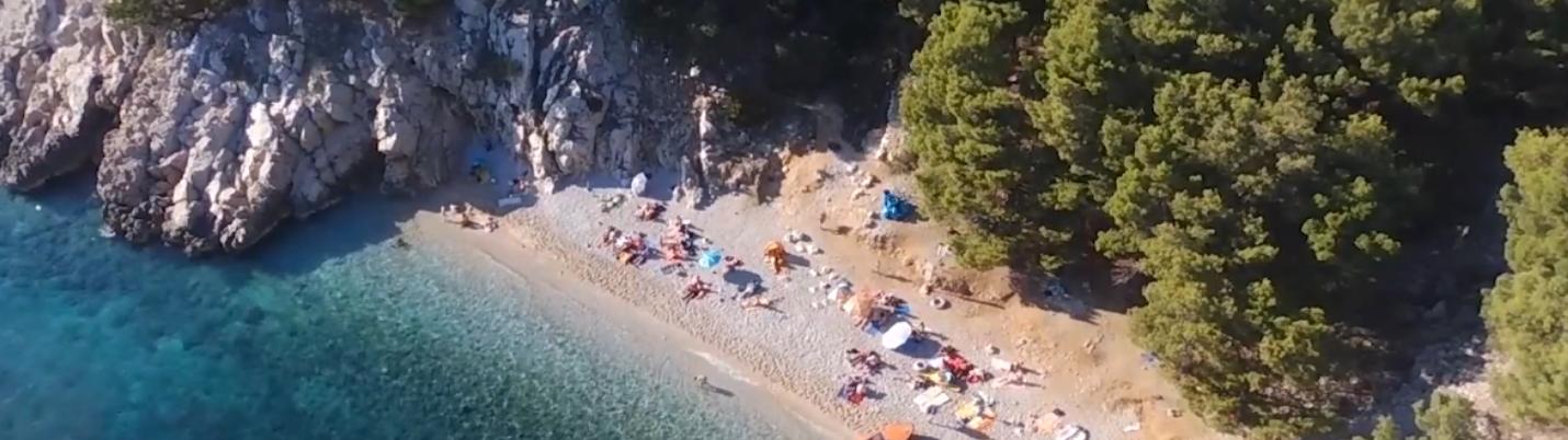Kroatien versteckte Bucht