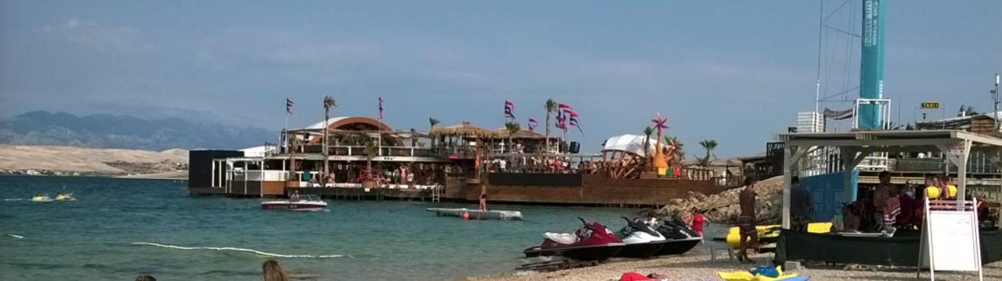 Zrce Beach Insel