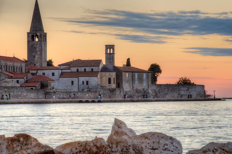 Porec Reiseziele Kroatien